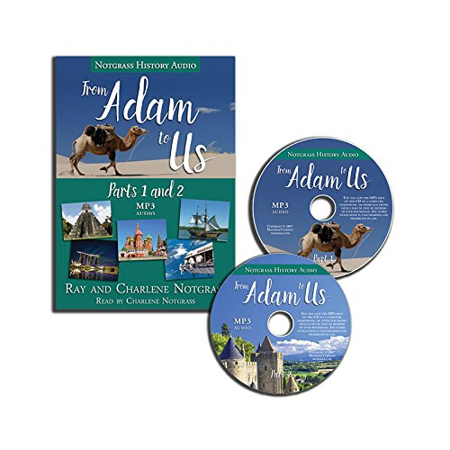 Download Notgrass History From Adam to Us Audio Supplement (MP3 CDs) PDF