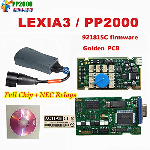 DHCCREATE 10pcs/lot Top Lexia 3 Full Chip Diagbox V7.83 Lexia3 pp2000 V48 Diagnostic for C-itroen P-eugeot with Newest Diagbox
