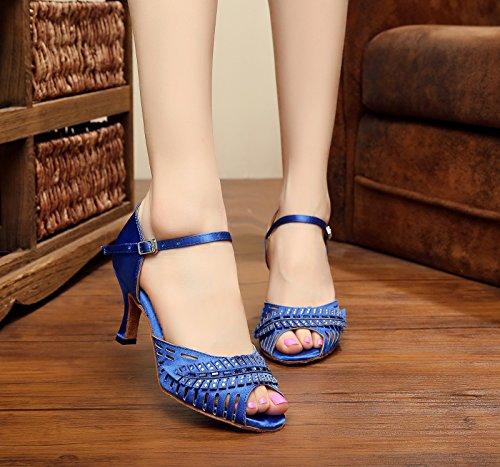 Heel Mujer Blue 5cm Salón Miyoopark 7 50qX0w