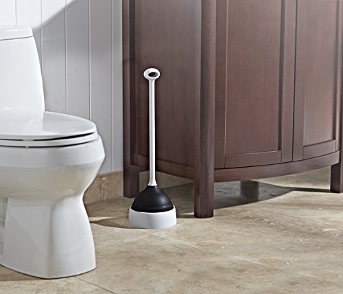 casabella plunger with base hardware tools plungers. Black Bedroom Furniture Sets. Home Design Ideas