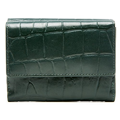 Genuine Leather Wallets For Women - Trifold Womens Wallet With ID Window RFID Blocking by Access Denied
