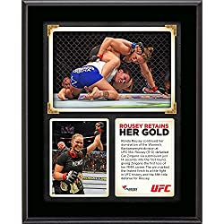 "Ronda Rousey Ultimate Fighting Championship 10.5"" x 13"" UFC 184 Victory Over Cat Zingano Sublimated Plaque - Fanatics Authentic Certified"