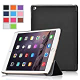 iPad Pro Case, Exact [Slender Series] iPad Pro 12.9inch Case - Ultra Slim Lightweight Smart-Shell Stand Case for Apple iPad Pro (2015 Release) (with Auto Wakes/Sleep Function) Black