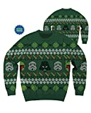 star wars imperial chewbacca - Star Wars Imperial Holiday Ugly Sweater Christmas Edition Crewneck Sweatshirt (Large)