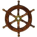 "SAILORS SPECIAL SH 8760 Ship Wheel 12 inch, 12"""