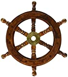 "Limited Time Offer on SAILORS SPECIAL 8760 Ship Wheel, 12""."