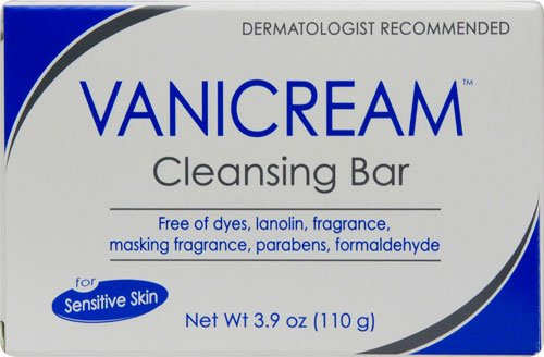 Vanicream Cleansing Bar Fragrance Free -- 3.9 oz - 3PC by