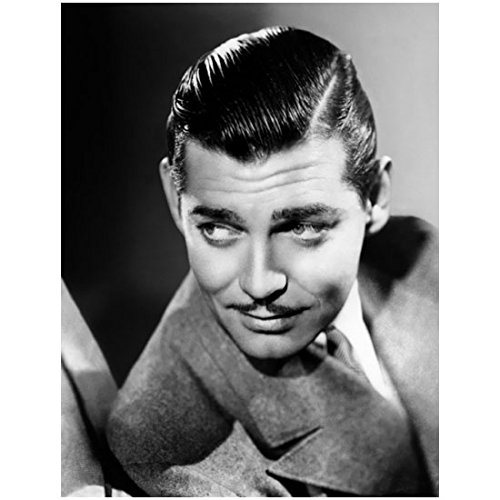 Handsome Young Clark Gable Headshot – 8×10 Photograph / Photo – Black and White