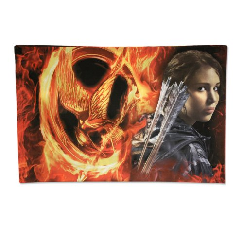 Hunger Games Movie Pillowcase Katniss