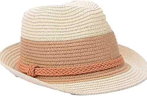 fb6566fd054 Summer Jazz Women Straw Hat Beach Men Sun Casual Panama Cap Hemp Rope  Patchwork Striped Straw