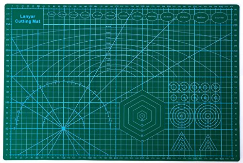 Gundam Model Builder's Cutting Mat 12''x18''( A3 ) by Lanyar