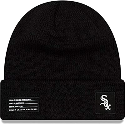 New Era Chicago White Sox Beanie On Field Sport Knit Cap Black Adult One Size