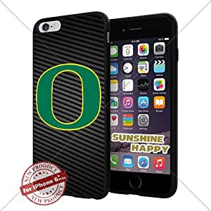 New Oregon Ducks, University NCAA Sunshine#2178 Cool iPhone 6 Plus - 5.5 Inch Smartphone Case Cover Collector iphone TPU Rubber Case Black