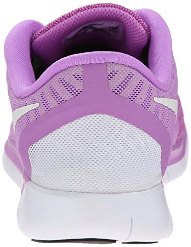 White 0 Unisex Fuchsia Black Volt Glow 5 Kids Trainer Free Nike q7vwHCv