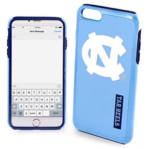 NCAA North Carolina IPhone 6 Dual Hybrid Case (2 Piece), Blue by Forever