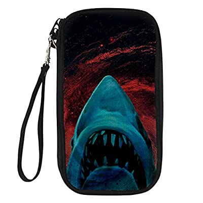 80e32a5cf2 new doginthehole Trendy Skull Printed Passport Pouch Travel Wallet  Crossbody Purses