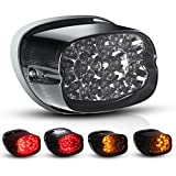 Motorcycle LED Turn Signal Integrated Tail Light for Harley Davidson Fatboy Heritage Sportster 883 Dyna Road King Electra Glide Nightster Street Bob FLHR FLHRCI FXD Night Train Rear Brake Park Light