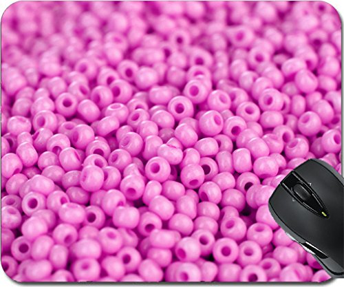Price comparison product image MSD Mousepad Mouse Pads/Mat design 19748322 Lots beads pink color closeup background