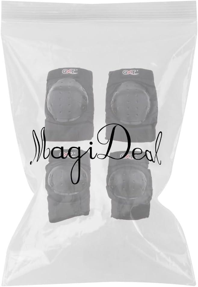 MagiDeal 2 par Rodillas Coderas Accesorio de Protector de Motoristas Piezas para Moto