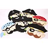 Pirate Foam Mask - Pack of 6