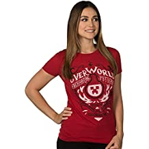 JINX Minecraft Women's Overworld Enchanting Potions Premium Cotton T-Shirt
