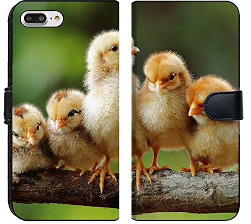 Apple iPhone 7 Plus and iPhone 8 Plus Flip Fabric Wallet Case Group Portrait of Cute Chicks Image 15252574 Customized Tablemats Stain Resistance (Chick Personalized Placemat)
