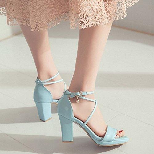 Donna Scarpe Blue Sweet Zanpa Sandali dqOxFRTf
