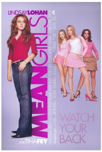 Girls Movie Poster (Mean Girls POSTER Movie (27 x 40 Inches - 69cm x 102cm) (2004))