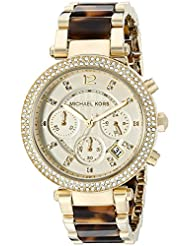 Michael Kors Womens Parker Brown Watch MK5688