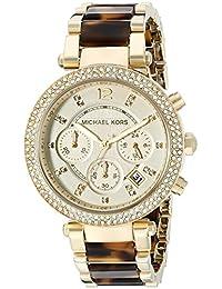 Women's Parker Brown Watch MK5688