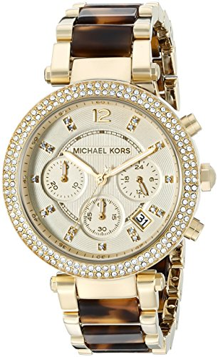 Michael Kors Women's Parker Brown Watch - Michael Ladies Kors