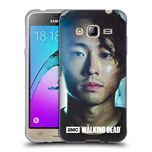 Price comparison product image Official AMC The Walking Dead Glenn Characters Soft Gel Case for Samsung Galaxy J3