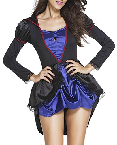 Booty Gal Women's Sexy Role Play Cosplay Princess Costume Set (Captain Caveman Costume)