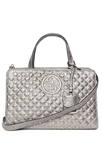 Bolsos De Y Shoppers Gris 30x20x14 H Cm X w pew pewter Guess L Mujer Gioia Hombro pqFHSFxBw