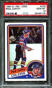 1984 O-pee-chee #239 Paul Coffey Oilers Hof Psa 10 H2524443-176