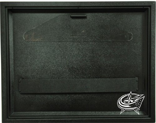 Jersey Caseworks Display Nhl Case - NHL Columbus Blue Jackets Liberty Value Hockey Jersey Display Case with Museum Quality UV Upgrade, Black