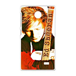 VOV Ed Sheeran Singer Cell Phone Case for Nokia Lumia X