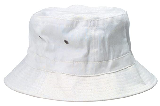 Amazon.com  White Bucket Hat  Clothing fc83ed7f16e