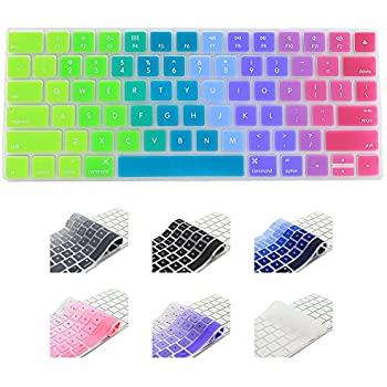 all inside rainbow keyboard cover for imac wired usb keyboard computers accessories. Black Bedroom Furniture Sets. Home Design Ideas