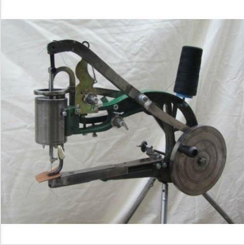 Hand Cobbler Machine Manual Shoe Repair Machine Dual Cotton Nylon Line Sewing Machine with Tripod
