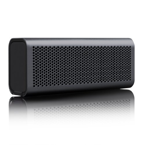 BRAVEN 710 Portable Wireless Bluetooth Speaker [12 Hours][Water Resistant] Built-In 1400 mAh Power Bank Charger - Graphite by Braven
