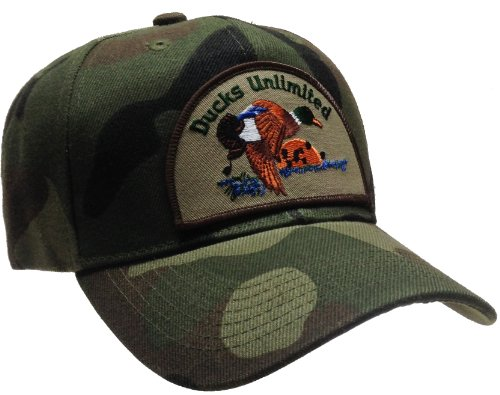 Ducks Unlimited Hat Camo Ball Cap