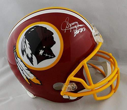 Sonny Jurgensen Signed F/S Redskins 78-03 TB Helmet W/HOF- JSA W Auth Silver