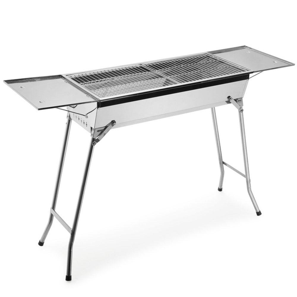 Outdoor-Verdickung Edelstahl Holzkohle Grill BBQ grill
