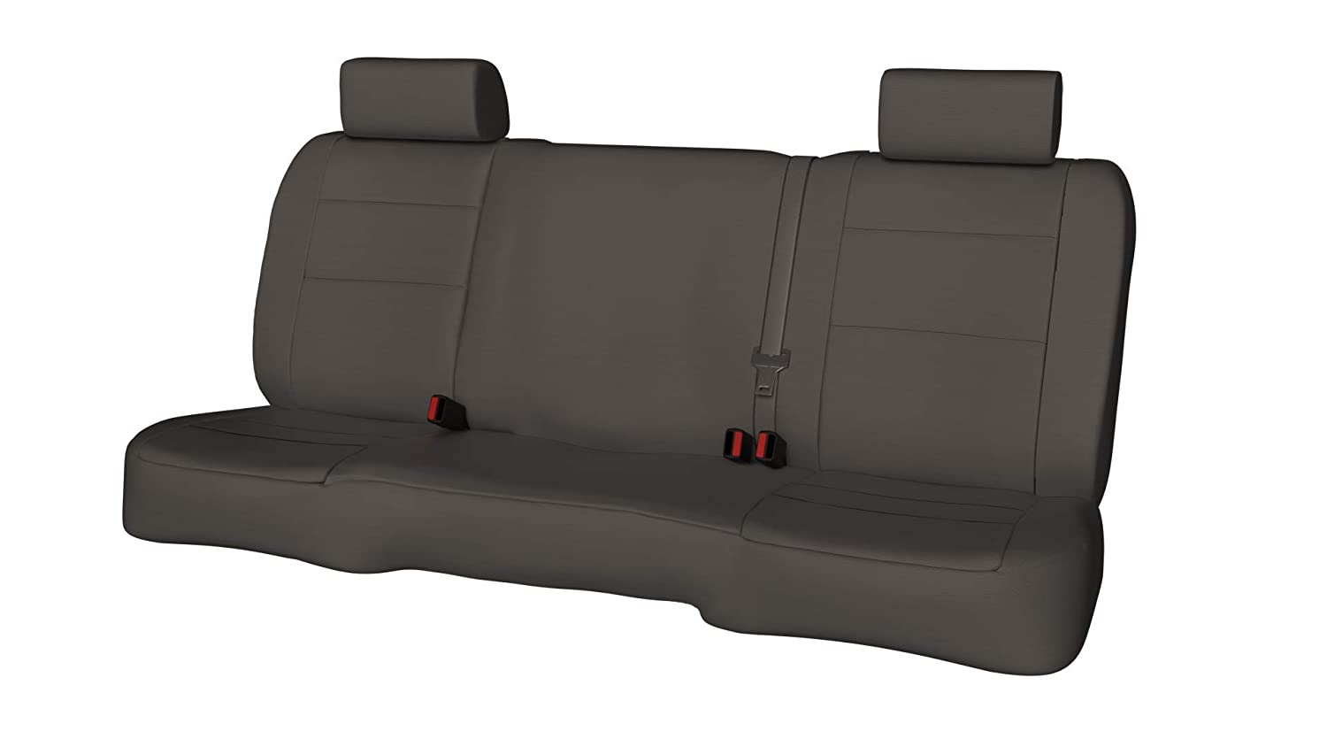 Custom ShearComfort Waterproof Cordura Seat Covers for 2018 Chevy Silverado 1500//2500//3500 Compatible w//Side Airbags and Heated Seats