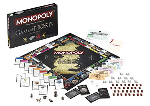 Winning Moves Games Game of Thrones Monopoly Board Game - Collector's Edition (Game Monopoly Thrones)