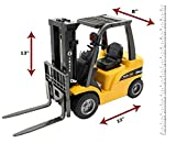 Top Race JUMBO Remote control forklift, 8 Channel Full Functional Professional RC Forklift, High Powered Motors, 1:10 Scale - Heavy Metal - (TR-216)
