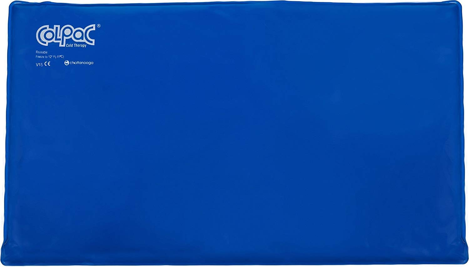 Chattanooga ColPac - Blue Vinyl - Oversize Large Ice Pack - 11 in x 21 in (28 cm x 53 cm) by Chattanooga