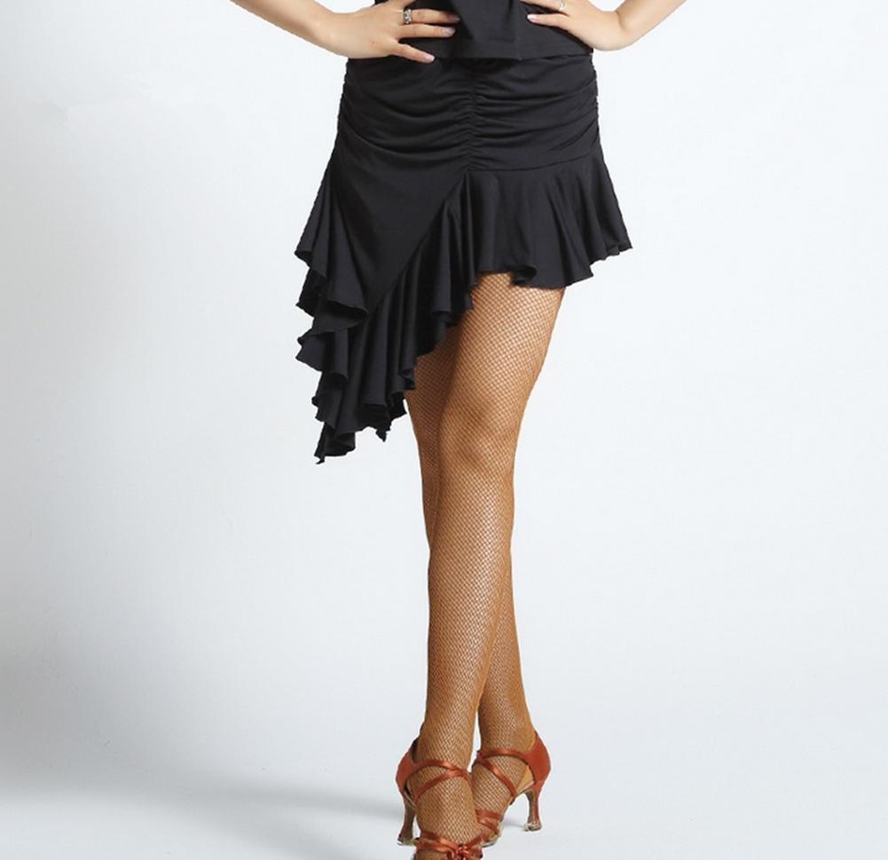 1 OOFAY Female irregular Latin dance skirt