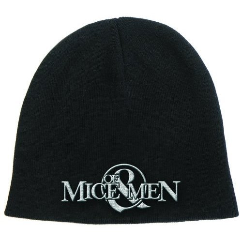 Womens Band Official Beanie Gift Black Of Mice Logo amp; Men Merchandise Hat Mens Ftx4w8qP